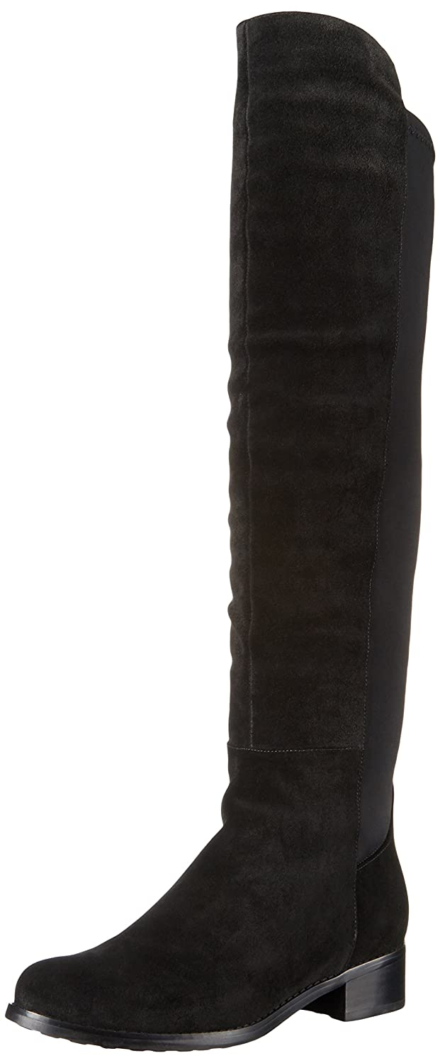 Blondo Women's Velma Waterproof Riding Boot B01D2830WQ 12 B(M) US|Black Suede