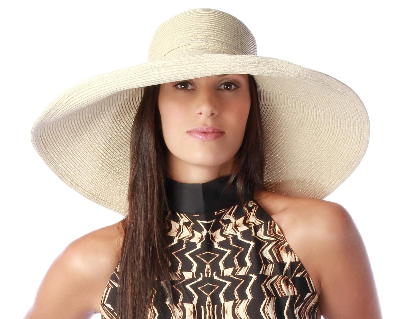 d85b99e685f Gottex Women s Belladonna Wide Brim Packable Sun Hat