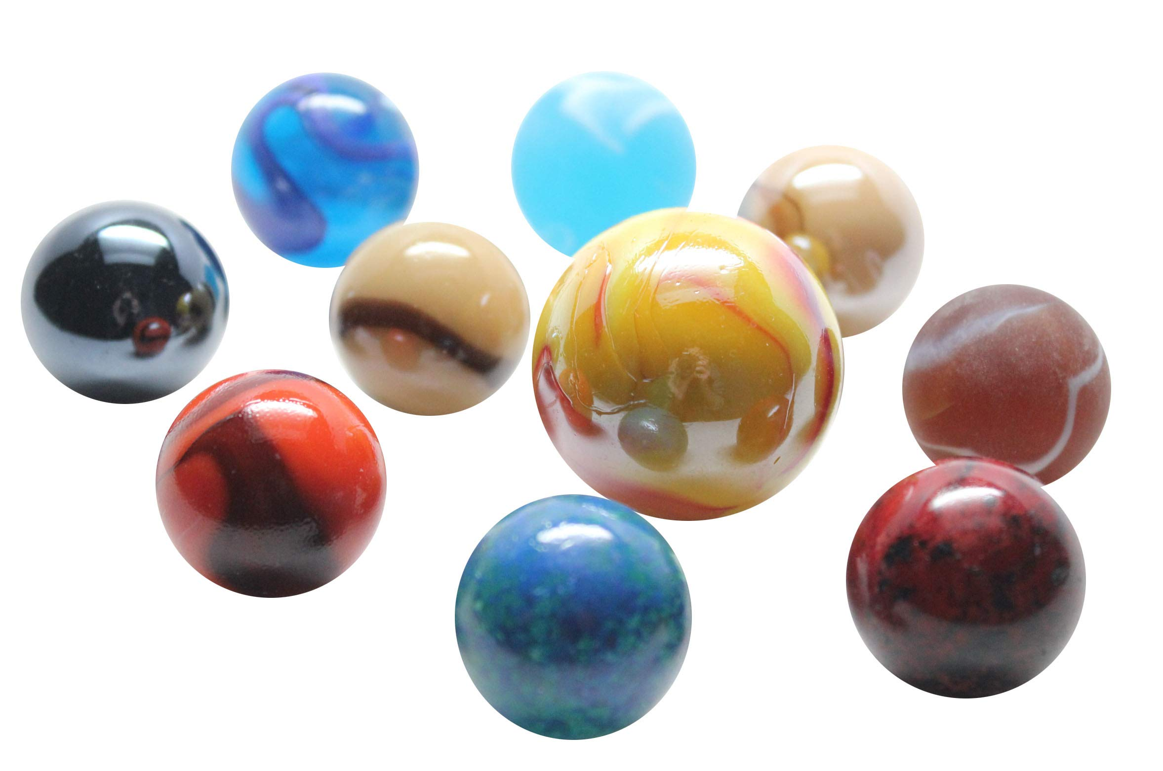 Solar System Marbles Game - Educational Learning Toy - Outer Space Planets