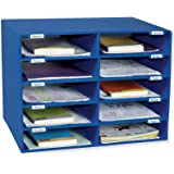 Pacon® PAC1309 Classroom Keepers® Mailbox, 10 Slots, Blue