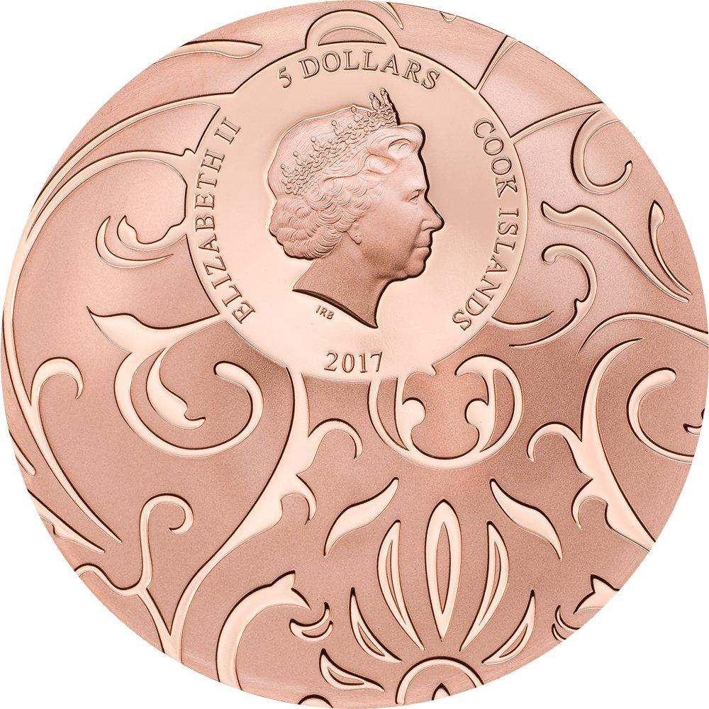 Scarab Selection Set 3x1 Oz Silver Coins 5$ Cook Islands 2017