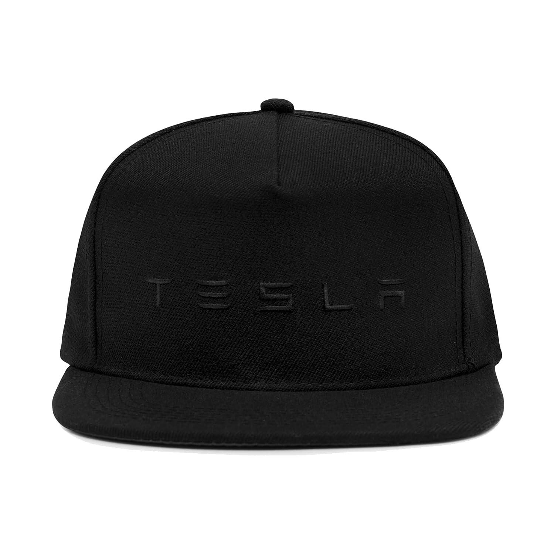 Tesla Snapback Hat (Black) at Amazon Men s Clothing store  0ec6aa8f86e