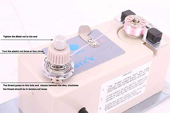 Amazon.com: Axis Automatic Bobbin Winder Electric for Juki Brother Janome Singer Bernina Babylock Embroidery Sewing Machine Bobbin Winding Not Working, ...