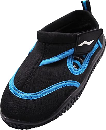 7c7339756 NORTY - Boys Skeletoe Aqua Water Shoes for Pool Beach, Surf, Snorkeling,  Exercise