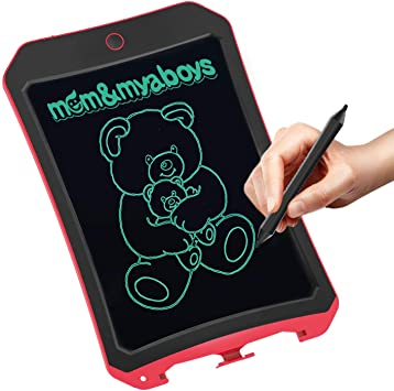hiriyt 8.5 Inch LCD Writing Tablet for Kids Children Digital Drawing Board Portable Mini Handwriting Pads with Screen Lock and Stylus,Electronic Notepad Graffiti Board Toddler Tablets Gift