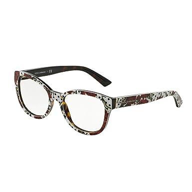 7dd0d91606 DOLCE & GABBANA DG 3209 Eyeglasses 2977 Carnation/White/Havana 53-18 ...