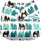 Mama Koala One Size Pocket Cloth Diaper, Mama March