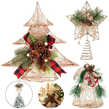 Decoración para árbol de Navidad de Handrong, decoración para mesa ...