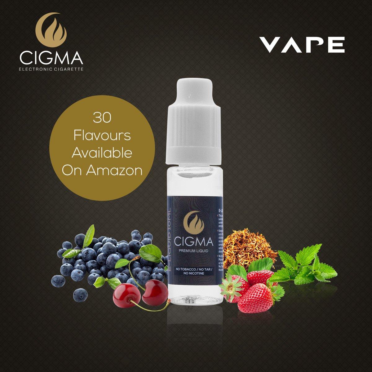 CIGMA 2 X 10ml E Líquido | Tabaco Gold | 2 botellas de la Nueva Fórmula de Calidad Premium con Sólo Ingredientes de Alto Nivel de Calidad | Hecho para ...