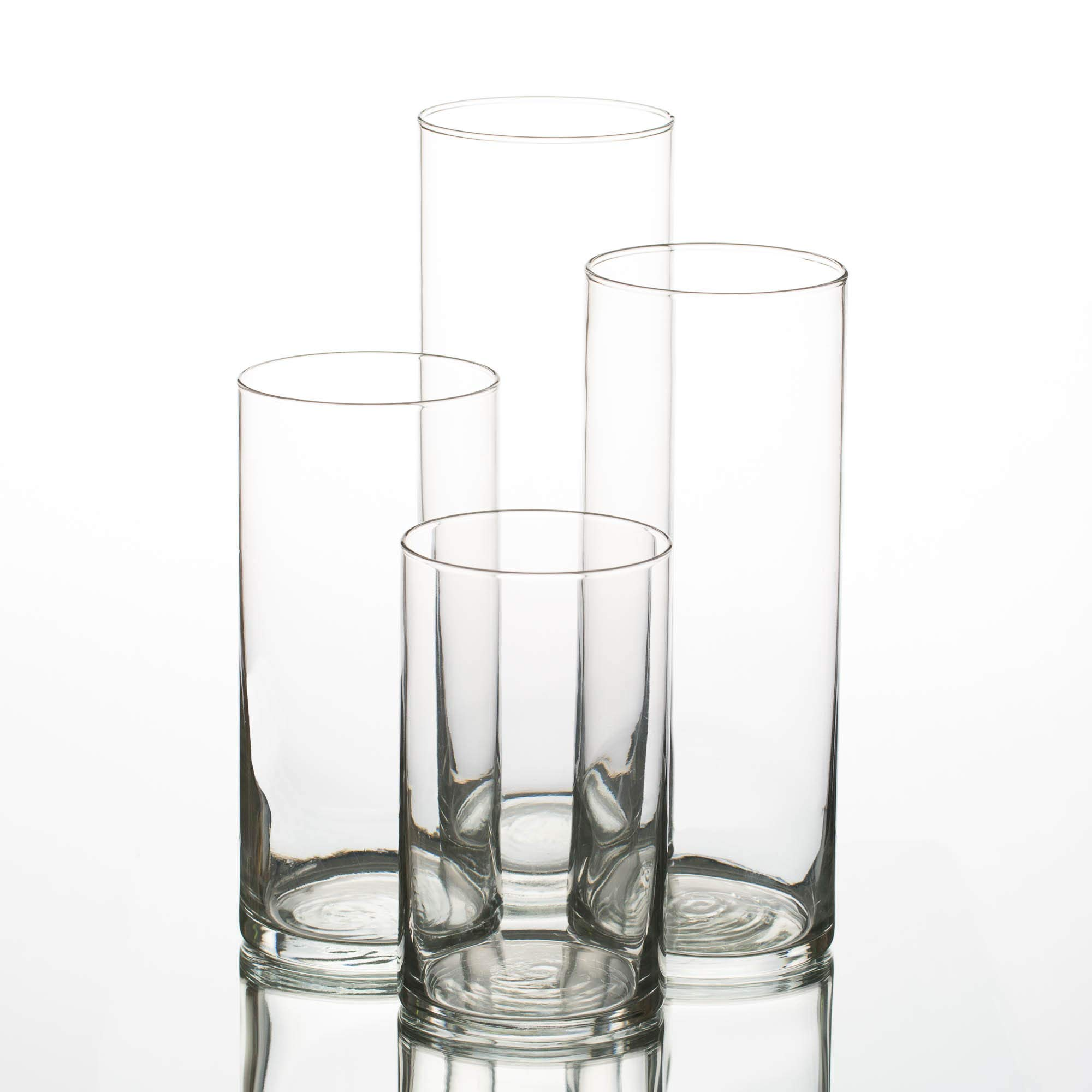 Eastland Glass Cylinder Vases Set of 48 by Eastland