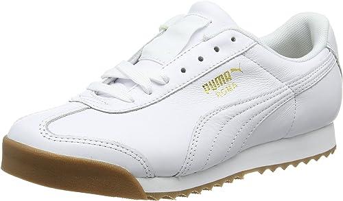 basket blanche puma roma