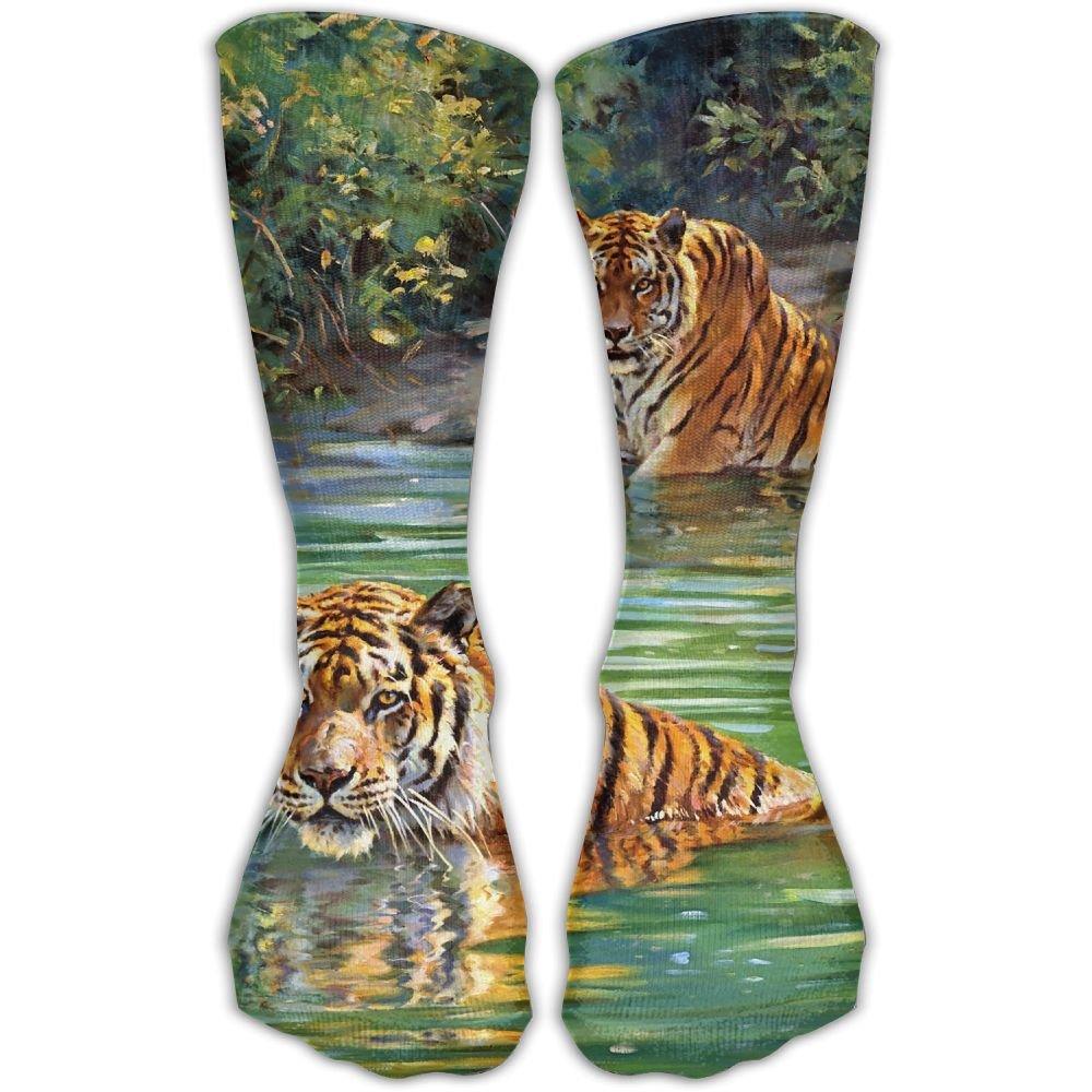 Protect Wrist For Cycling Moisture Control Elastic Sock Tube Socks River Tigers Athletic Soccer Socks