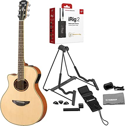 Yamaha APX700II-12 Thinline Cutaway Guitarra acústica eléctrica de ...