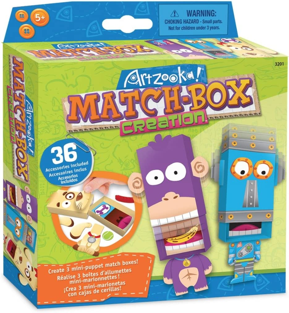 Make Animals from Cupcake Liners Craft Kit for Girls and Boys Artzooka DIY Craft Set for Creative Kids SMU-3202