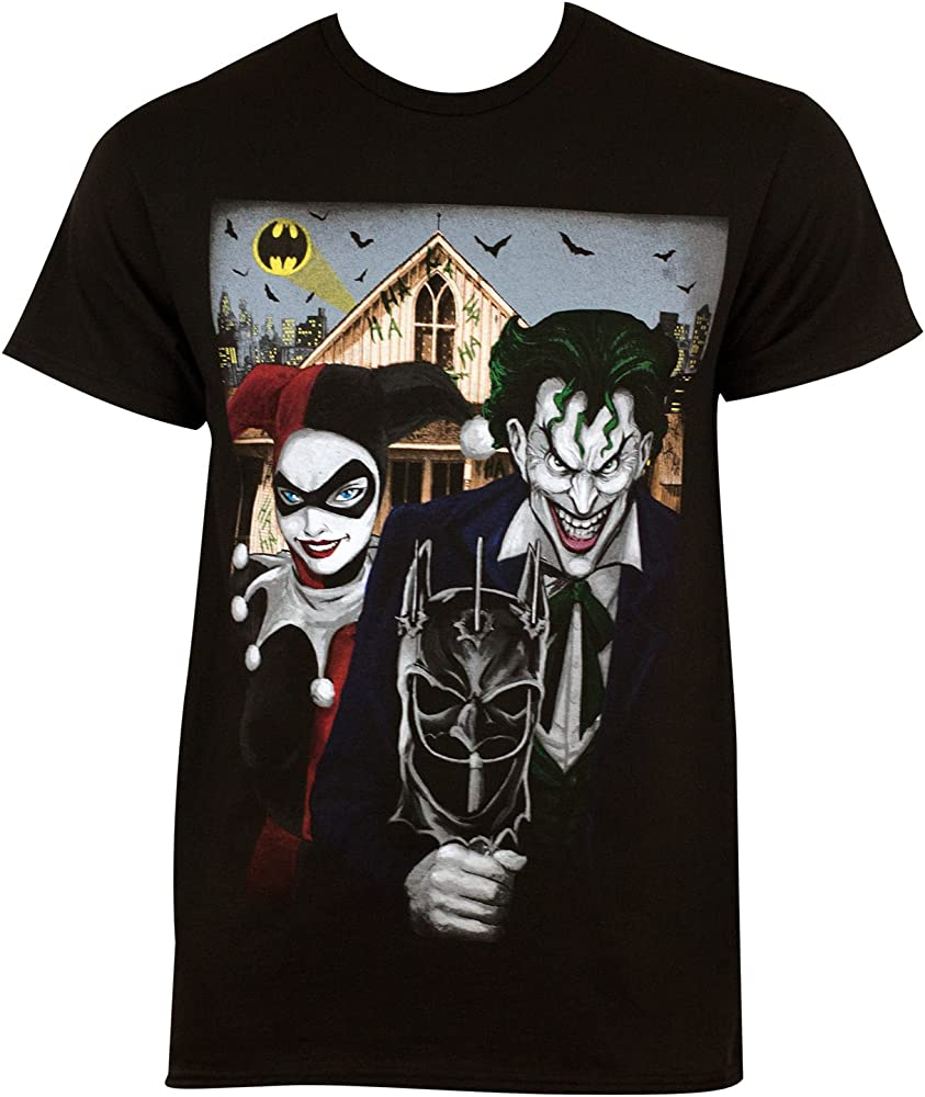 Harley Quinn El Joker gótica Americana Camiseta XX-Large: Amazon.es: Ropa y accesorios