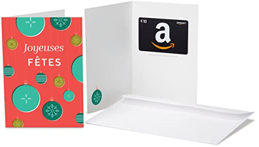 carte cadeau amazonfr uac dans une carte de voeux decorations de with cheque cadeau maison du monde. Black Bedroom Furniture Sets. Home Design Ideas