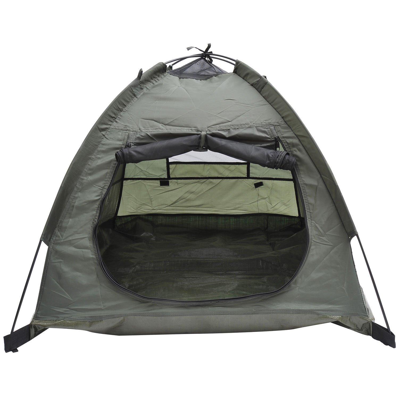 Pawhut Outdoor C& Pop Up Pet/Dog C&ing Tent 33 x 28  Amazon.co.uk Pet Supplies  sc 1 st  Amazon UK & Pawhut Outdoor Camp Pop Up Pet/Dog Camping Tent 33 x 28