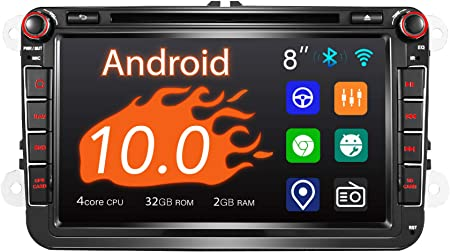 Amaseaudio Android 10 Car Radio 2 Din For Vw 8 Inch Touchscreen Dsp Supports Android Car Apple Carplay Gps Navigation Quick Start Backup Camera Obdii Navigation Car Hifi