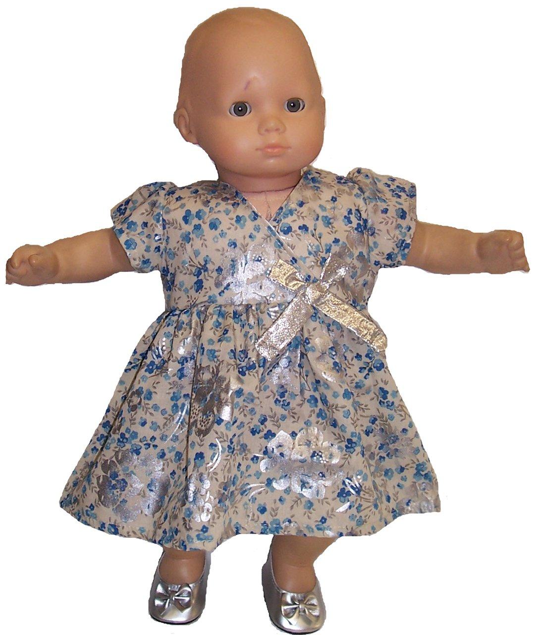 Doll Clothes Clothes Super Super Storeブルーとシルバー花for Baby Dolls Baby B00ZM1SOG4, こだわりのアイタイショップ:2ff6e08c --- arvoreazul.com.br