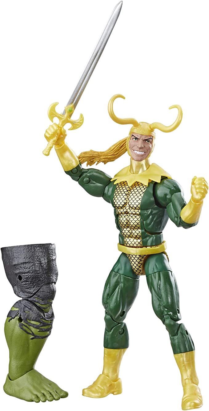 """Marvel Legends 6/"""" Inch A-Force 6-Pack Avengers Lady Loki Loose Complete"""