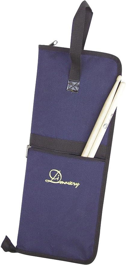 Bolsa para baquetas RELY, azul, nylon, compacta - Funda de baquetas / Estuche para baquetas - klangbeisser: Amazon.es: Hogar