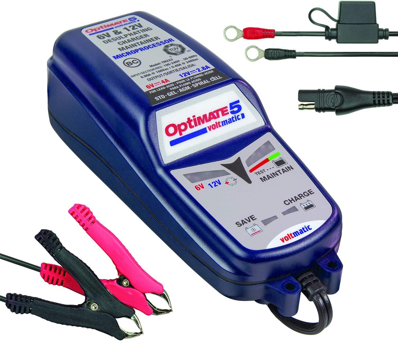 52 mm//2 Zoll Batterie Digitalanzeige Wasserdichtes Antibeschlagmessger/ät 12 V mit intelligentem Alarm f/ür Schiffe//Elektrofahrzeuge//Boote Batteriemessger/ät schwarz
