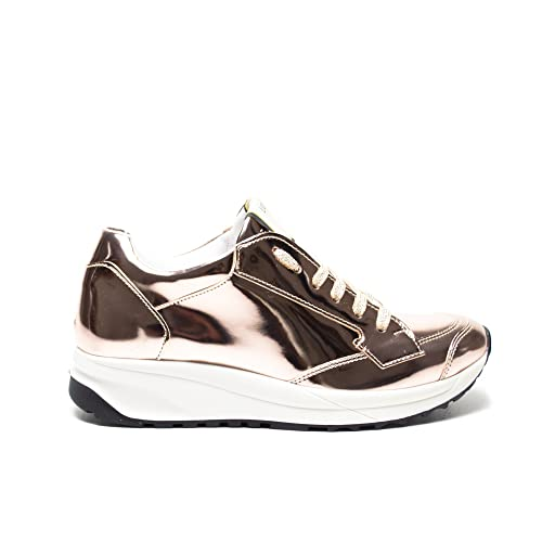 Liu Jo - Zapatillas de Material Sintético para mujer rosa Rose, color dorado, talla 39 EU: Amazon.es: Zapatos y complementos