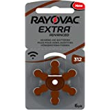 Rayovac Extra Advanced, Size 312 Hearing Aid Battery (Pack 60 Pcs)