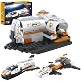 Space Shuttle Building Blocks Set, Space Ship Building Bricks Pack, Space Construction Toys for Boys 6-12, 3 in 1 (168…