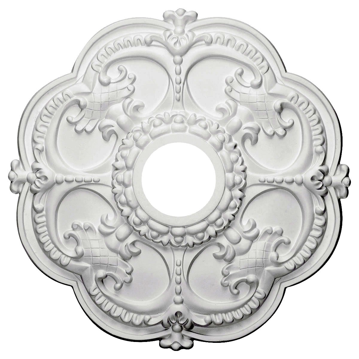 poly ceiling picture using simple killer and white medallions interior accessories of decorative for ceilings neat decoration home