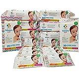bloom BABY Sensitive Skin Unscented Hypoallergenic Baby Wipes Mega Value Bulk Box - 690 count