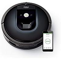 iRobot Roomba App-Steuerung (hohe Reinigungsleistung, keine Verhedderungen mit Dirt Detect, reinigt alle Hartböden und teppiche, ideal bei Tierhaaren, WLAN-fähig)