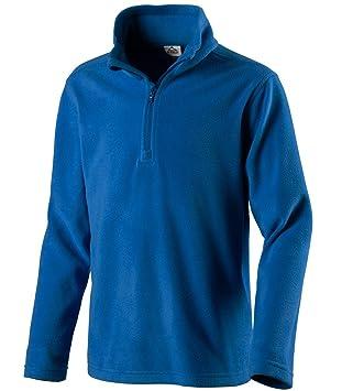 7aa0eda5a3 McKinley Kinder Ski Freizeit Fleece Rolli Sweatshirt CORTINA II french  blue, Größe:92