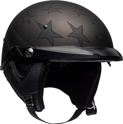 73cbee9a Amazon.com: Bell Pit Boss Open-Face Motorcycle Helmet (Honor Matte  Titanium/Black, X-Small/Small): Automotive