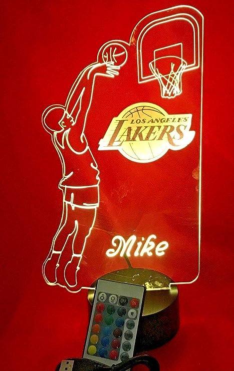 Amazon.com: La Lakers - Lote de luces LED para jugador de ...