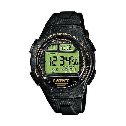 f9ab2357be3b CASIO Collection Men W-734-9AVEF – Reloj digital de cuarzo con correa de  resina para hombre (alarma