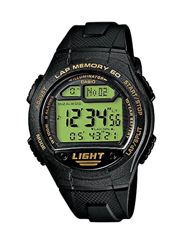 CASIO Collection Men W-734-9AVEF - Reloj Digital de Cuarzo con Correa de