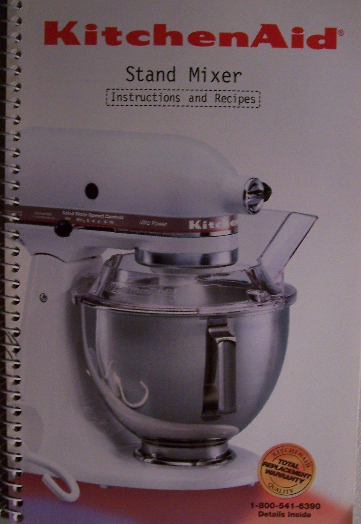 kitchenaid stand mixer instructions and recipes 9704323 rev a rh amazon com kitchenaid artisan mixer instruction book kitchenaid professional hd stand mixer instruction manual
