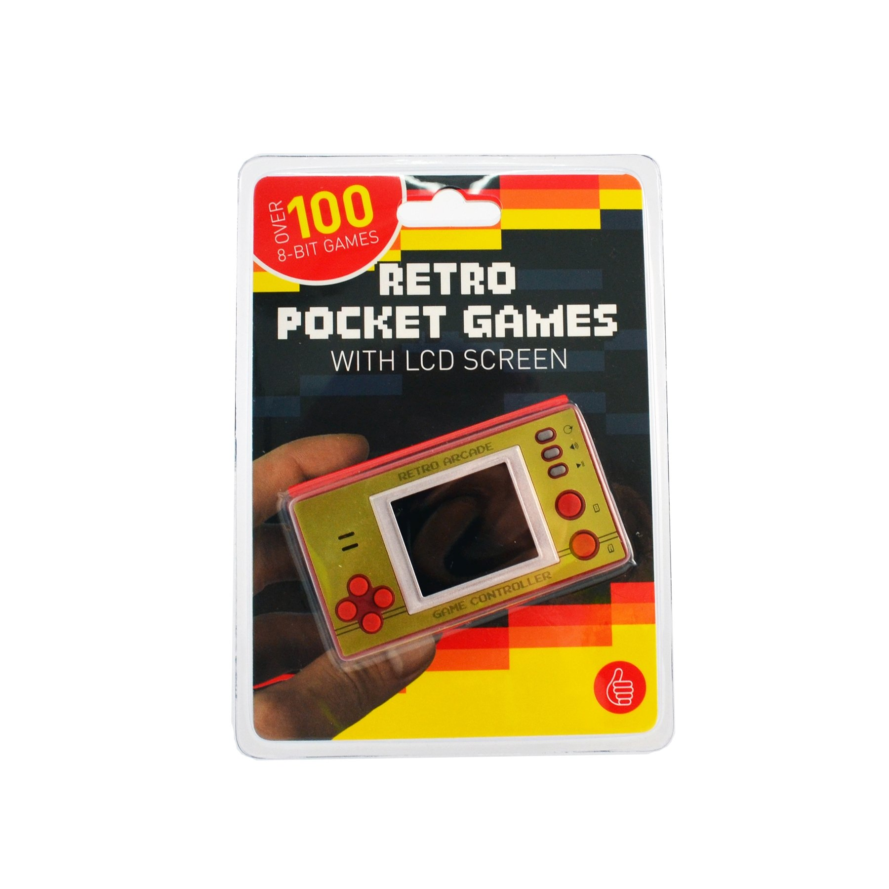 ThumbsUp Retro Pocket Games, Retro Arcade Game Controller