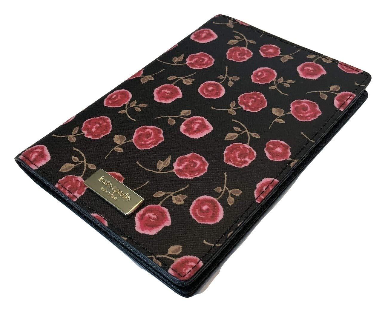 Kate Spade New York Imogene Passport Case Holder Laurel Way Hazy Rose WLRU5054 (Rooster Red)