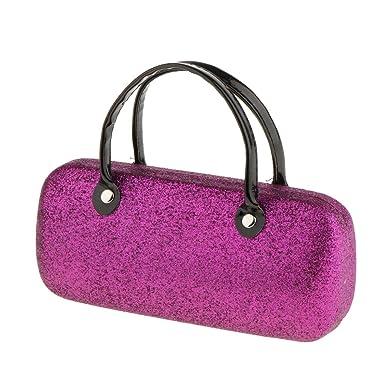 1340599f786 MagiDeal Cute Handbag Style Metal PU Hard Eyeglass Case Eye Glasses Eyewear  Protector Box Holder Organizer Pouch 6 Styles -  2