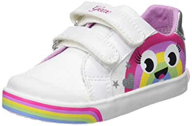 89a23c4b0ca5 Geox Baby Girls B Kilwi C Low-Top Sneakers  Amazon.co.uk  Shoes   Bags