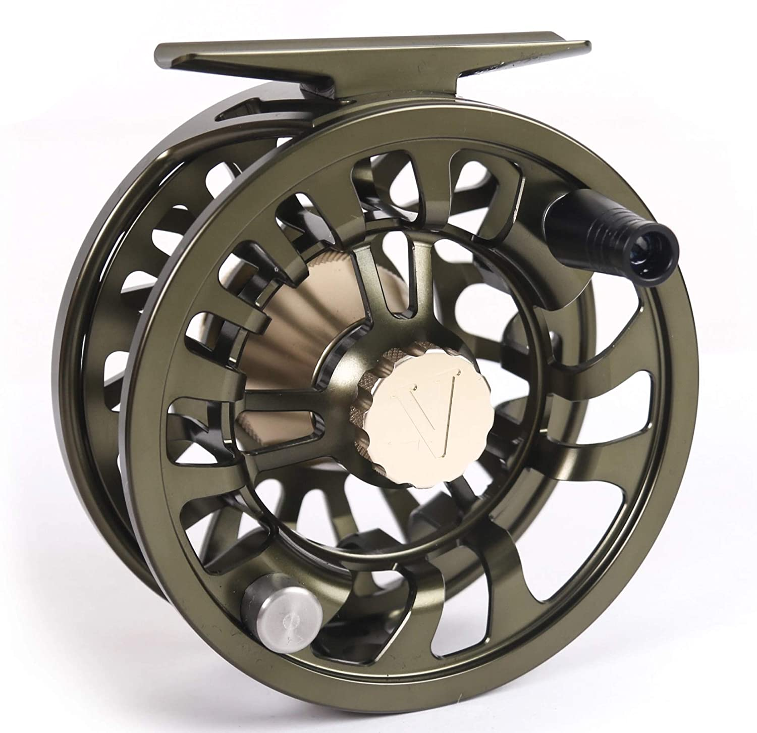 New 2019 Colorado Fly Fishing Reel 5 6 7 Weight Trout Bass Fishing Super Large Arbor, Multi-disc Drag Wheel Ergonomic Handle Left Right Handed, Sealed for Fresh or Salt Water