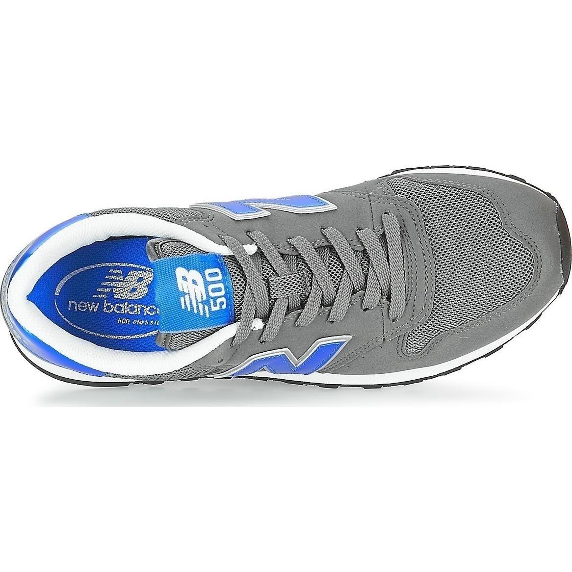 New Balance GM500KSR - Zapatillas para Hombre, Gris/Azul, 40 (6.5 UK)