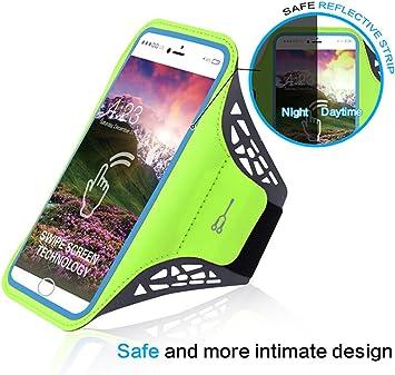 Hillento brazalete deportivo, el brazalete teléfono celular resistente al agua, para mujer y hombre corriendo brazaletes