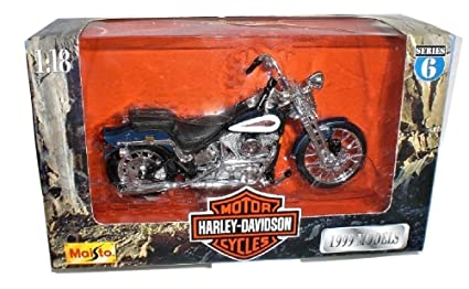 Amazon.com: Maisto Harley Davidson FXSTS Springer Softail 99 ...