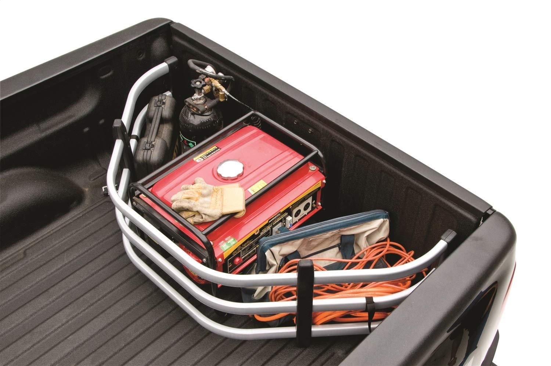 AMP Research 74830-00A Silver Bedxtender HD Sport Truck Bed Extender for 2019 Ram 1500
