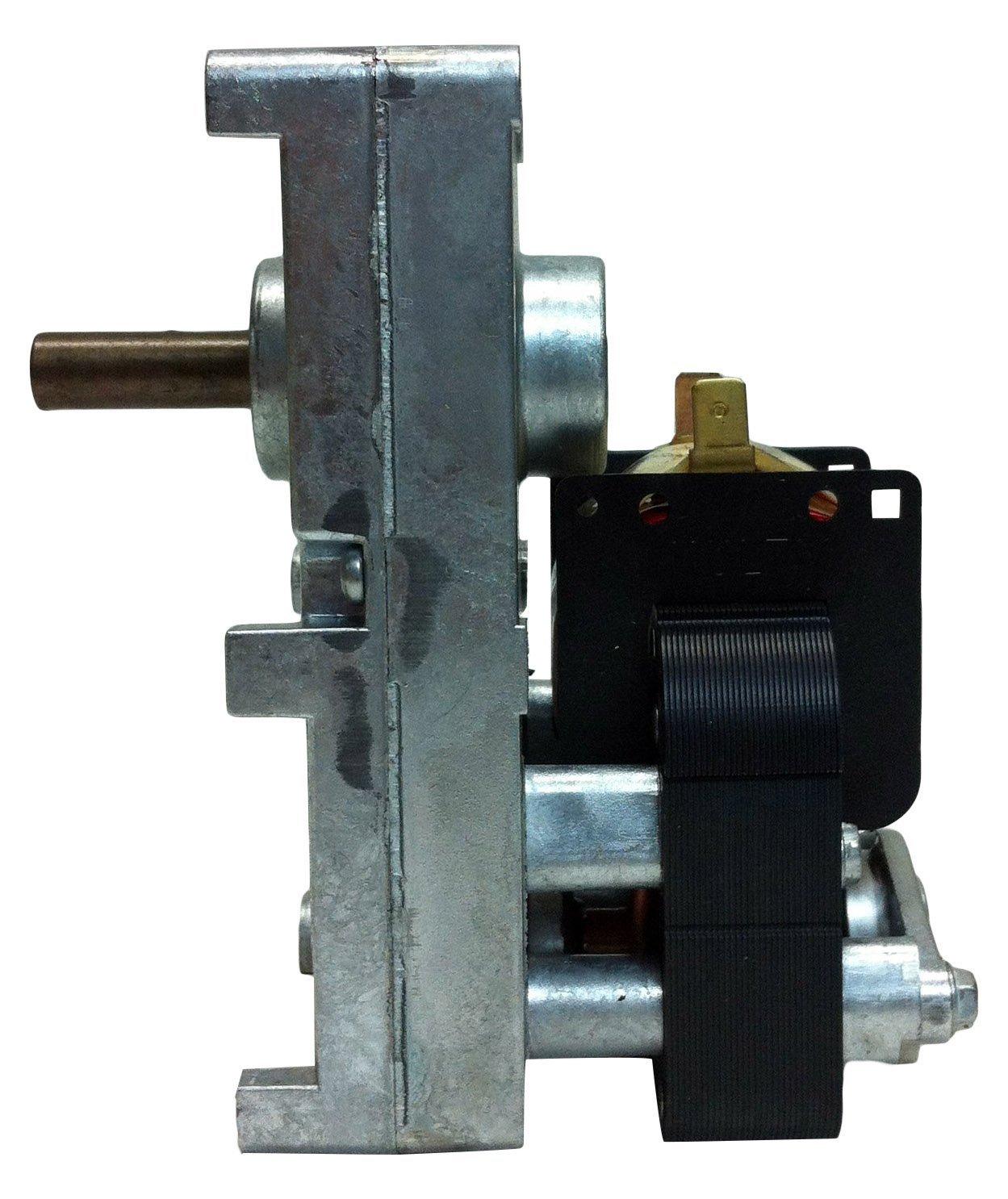 PEMS HM-RGM451 Pellet Stove Auger Gear Motor, 1 RPM, 0.51 Amps, 120 V by PEMS