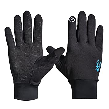 df3d47216 Winter Gloves,Touch Screen Gloves Touch Gloves Screen Touch Gloves Running  Gloves Driving Gloves for Women and Men (Black - Large)