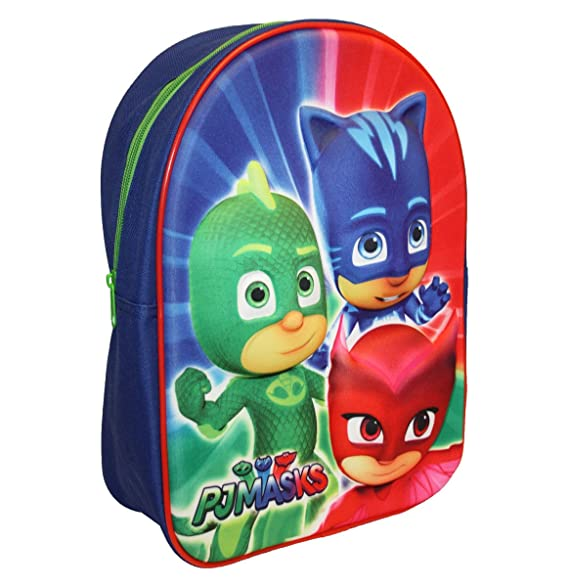 P J Masks Childrens 3D EVA Backpack